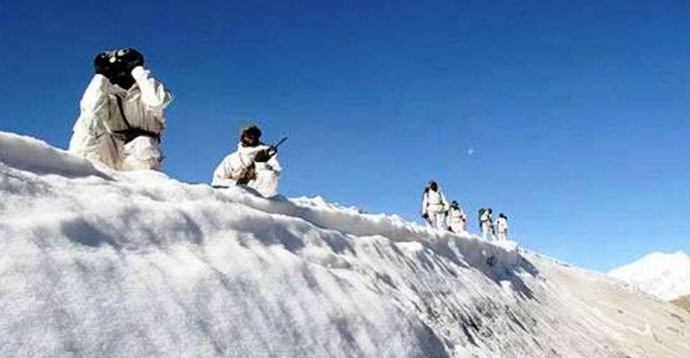 The Siachen Glacier of Baltistan, Pakistan