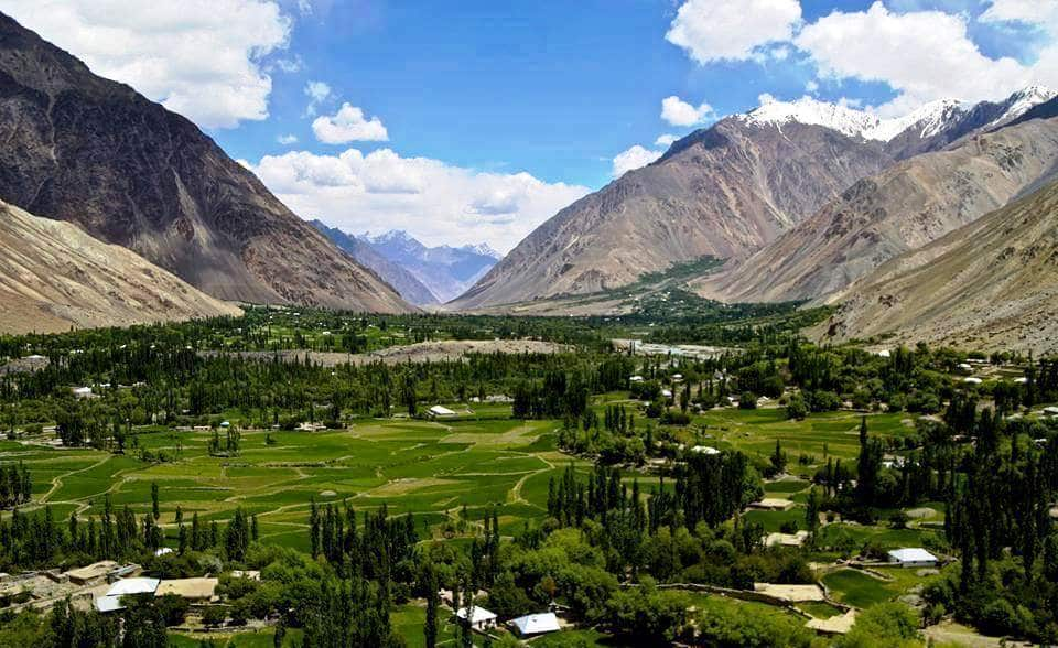 The beautiful Chitral Valley of Pakistan